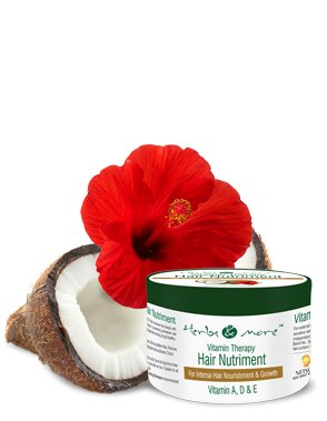 Herbs & More Happy Health Vitamin Therapy Hair Nutriment, 100g