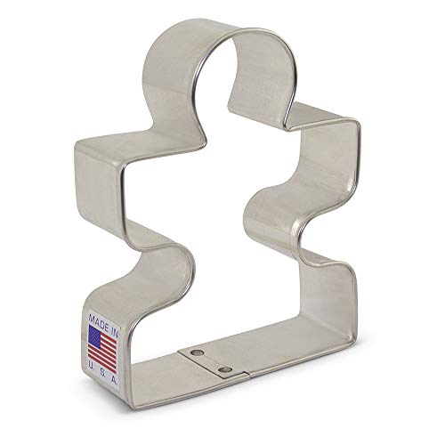 Ann Clark Cookie Cutters Puzzle Piece Cookie Cutter, 3.5