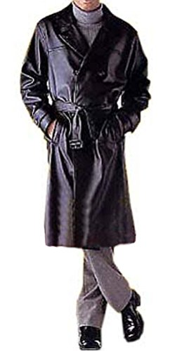 Double Breast Trench Coat - 6