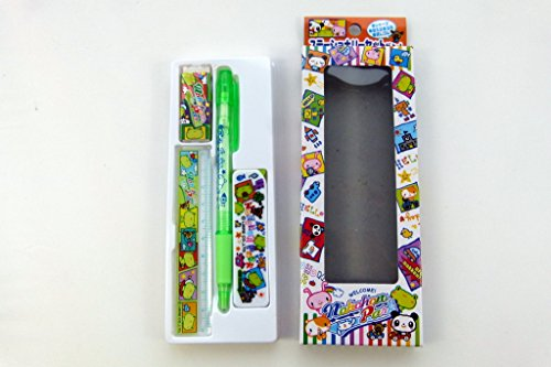 Nohohon Park Cute Mechanical Pencil Stationery Set - Green