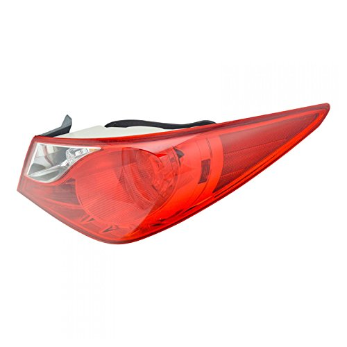 (Outer Rear Taillight Taillamp Passenger Right RH Fits 11-13 Hyundai Sonata)
