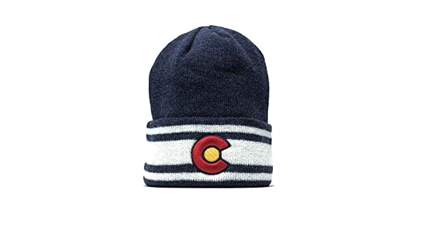98d6a4cf0fb Colorado XC Beanie Blue at Amazon Men s Clothing store