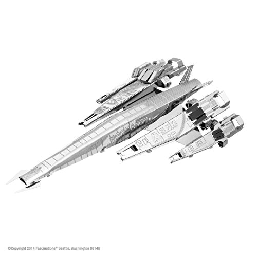 Metal Earth - 5060311 - Maquette 3D - Mass Effect - Normandy Sr2 - 9,7 x 4,6 x 3,1 cm - 1 pièce