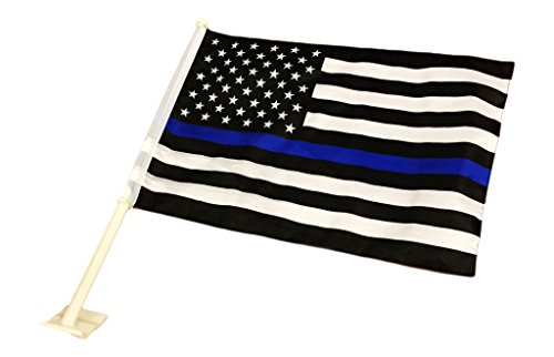 Pointview Flags Thin Blue Line American/Car Flag