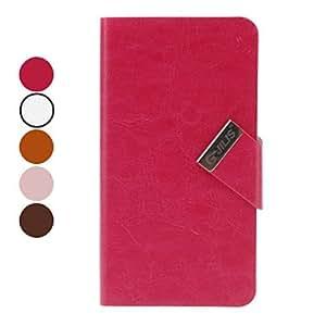 HOR British Style Funda de cuero PU con Aparato Sucker para Samsung Galaxy S3 y S4 I9300 i9500 (colores surtidos) , Rosa