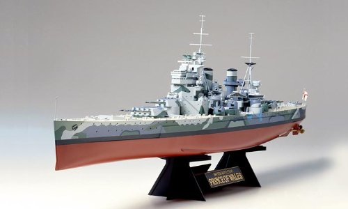 Tamiya 78011 British Battleship Prince of Wales 1/350 for sale  Delivered anywhere in USA