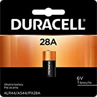Duracell - 28A 6V Specialty Alkaline Battery - long lasting battery - 1 Count, Black/copper