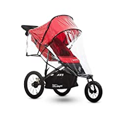 The Joovy Zoom 360 Ultralight Rain Cover is made exclusively for the Zoom 360 Ultralight jogging strollers. This handy rain cover will keep your little ones warm and dry. It's easy to install and ventilated for breathability.