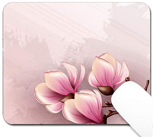- MSD Mouse Pad with Design - Non-Slip Gaming Mouse Pad - Image ID 20278946 Magnolia Branch Isolated