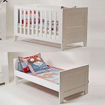 lounge-zone Marken Babybett Gitterbett Pinie Massiv Kinderbett ...