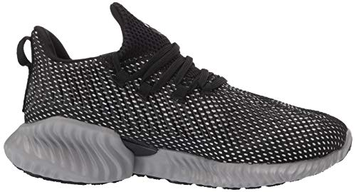 Adidas Kids Alphabounce Instinct, Black/White/Grey, 1 M US Little Kid by adidas (Image #7)