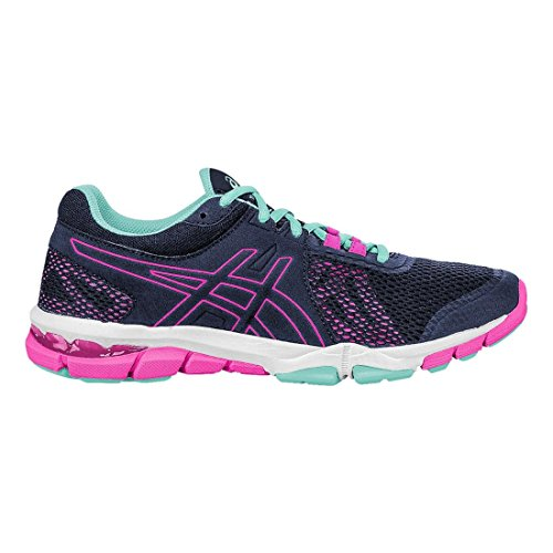 Women's TR Blue Hot Pink Cross 4 Trainer Craze ASICS Shoe Gel Indigo Indigo Blue dqw6nt