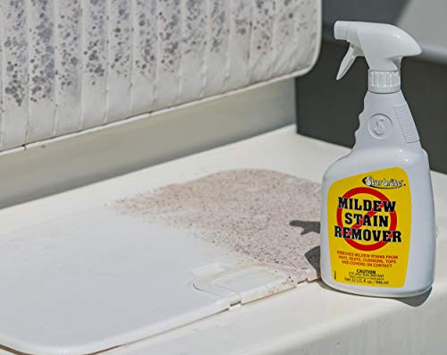 Star brite Mold & Mildew Stain Remover + Cleaner - Lifts Dirt & Removes Mildew Stains on Contact - Gallon Size