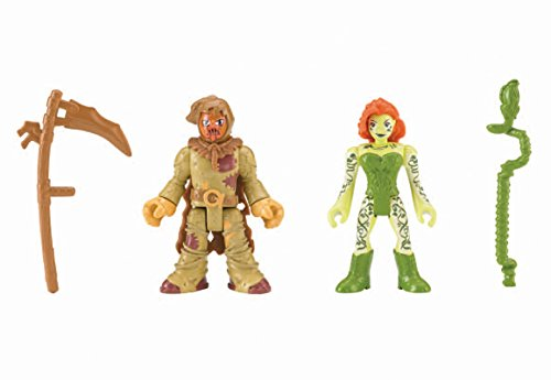 Fisher-Price Imaginext DC Super Friends, Scarecrow & Poison Ivy - http://coolthings.us