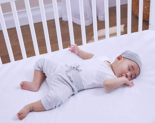 Sealy Soybean Foam-Core Toddler & Baby Crib Mattress – Lightweight Hypoallergenic Soy...