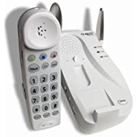 Clarity C4205 2.4GHz Cordless Phone with 50-dB Amplification and Extra Loud Ringer (White)