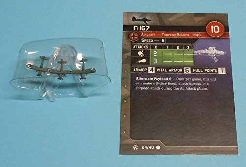 War At Sea Condition Zebra Fi 167 #24/40 NEW Axis Allies Miniatures Minis .HN#GG_634T6344 G134548TY56449 (Allies And Miniatures Axis)