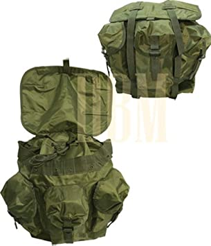 Military Style Nylon Medium OD GREEN Alice Backpack Bag LCII MED Rucksack