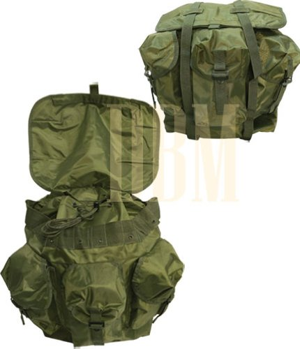 Military Style Nylon Medium OD GREEN Alice Backpack Bag LCII MED Rucksack