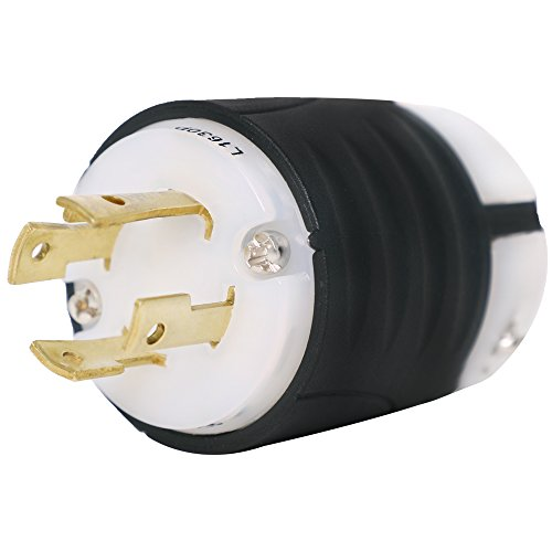 - Pass and Seymour L16-30 Plug - Rated for 30A, 480V, 3-Phase - Iron Box Part # IBX-L1630P