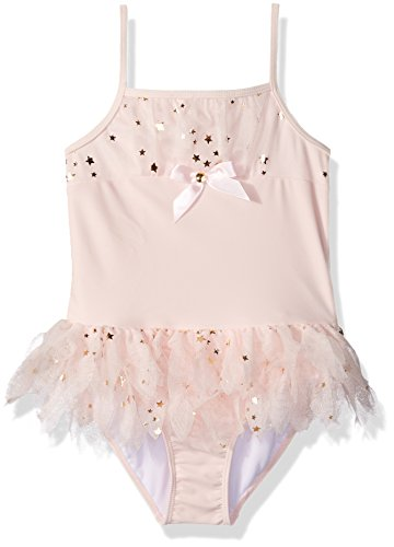 Kate Mack Little Girls' Toddler Fairy Dance Skirted Tank Swimsuit, Pink, 3T