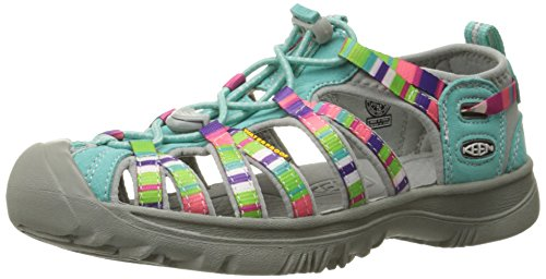 KEEN Girls Whisper Sandals, Raya Fusion, 4 M US Big Kid (For Kids Keen Sandals)