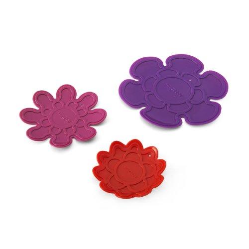 Kizmos Flower Tools Silicone Trivet Set