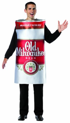 Rasta Imposta Old Milwaukee Beer Can Costume, Multi, One Size]()