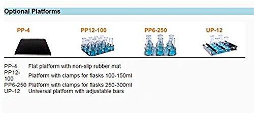 Platforms for Temperature Controlled Incubator & Shaker Scientific Incu-Shaker Shaking Incubator 50~300rpm R.T.+5 ~60°C ES-60 (UP-12)