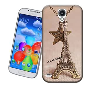 Eiffel Towers and Star Design TPU Phone Case for Samsung Galaxy S4