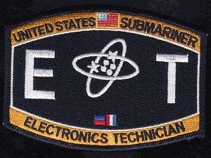 Amazon.com: US Navy Submariner Electronics Technician ET Patch ...