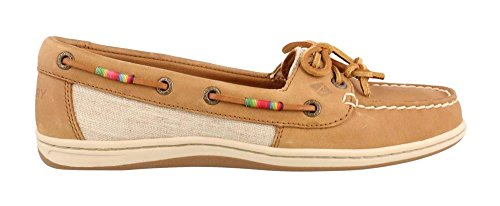 Sperry Top-Sider Women's Firefish Leather Rainbow Tan Oxford (Sperry Rainbow)