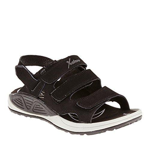 Xelero Bali Women's Comfort Therapeutic Extra Depth Sandal Shoe: Black 6.0 Medium (B) Velcro ()