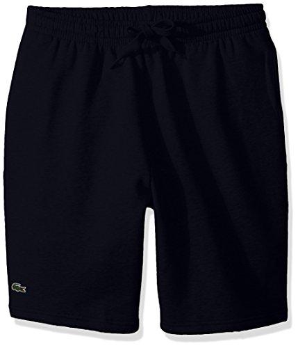 Lacoste Men's Tennis Sport Fleece Short, Navy Blue, 5