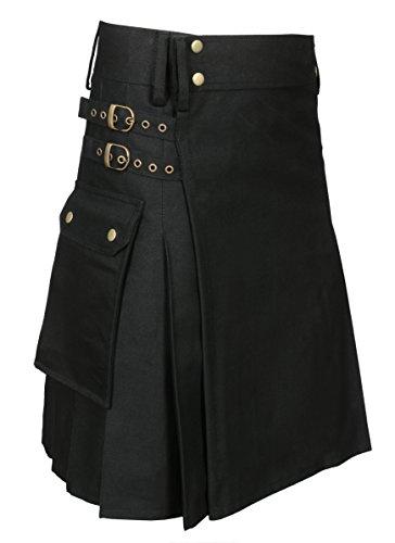 Utility Kilt Black New Size 34]()