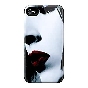 New Premium TubandaGeoreb Marilyn Manson Skin Cases Covers Excellent Fitted For Iphone 6