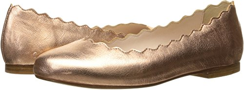 Chloe Kids Girl's Mini Me Iconic Open Ballerinas (Little Kid) Macchiato Flat by Chloe