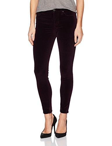 Hudson Jeans Women's Nico Midrise Ankle Super Skinny 5 Pocket Jean, Violet Trance, 27