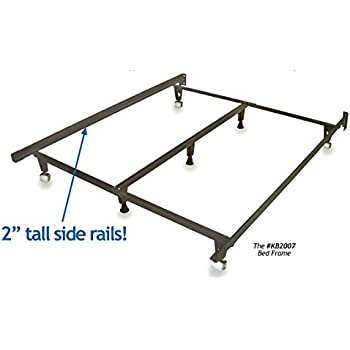 this item metal bed frame monster heavy duty adjustable frame for twinfullqueenkingcalifornia king