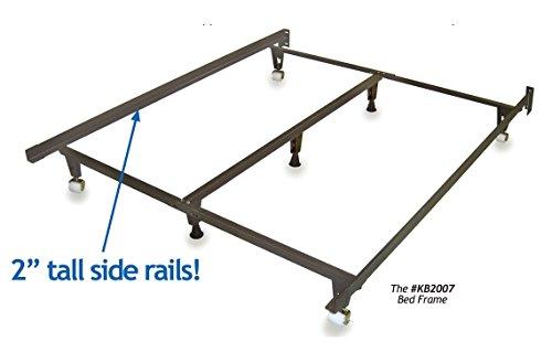 """Metal Bed Frame - """"Monster"""" - HEAVY DUTY - Adjustable Fra..."""