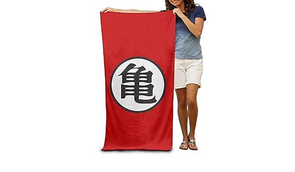 Custom Dragon Ball Z Kame Symbol Bath/Beach Towel / 31x51 intch: Amazon.es: Hogar
