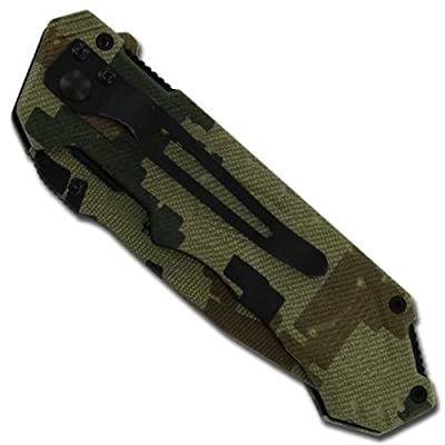 Rangers Lead The Way Camouflage Folding Pocket Knife