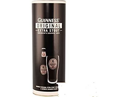 Personalised message engraved guinness glass with bottle of personalised message engraved guinness glass with bottle of guinness in gift tube box negle Image collections