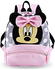 Minnie rugzak roze Mickey Mouse kleuterschoolrugzak 2-9 jaar op de kleuterschool jongens rugzak meisjes rugzak