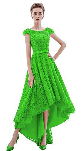 Vimans -  Vestito  - linea ad a - Donna Bright Green 46