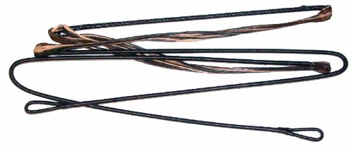 Replacement Compound Bow String - D-75 Tri Color Camo - Fits Hoyt / Reflex / More ( (56.5')