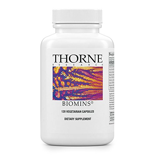 Thorne Research - BioMins - Comprehensive Multi-Mineral Supplement with Copper and Iron - 120 Capsules Mineral Supplement 120 Capsules