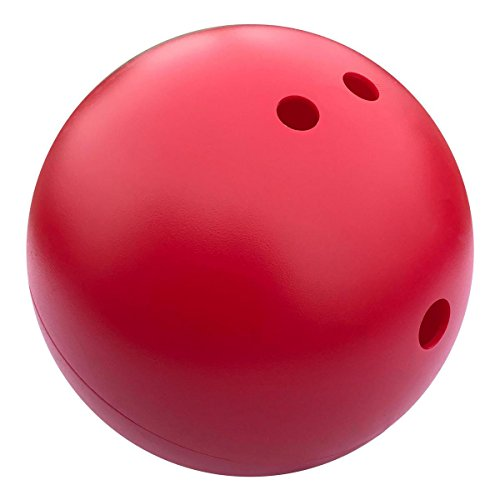Indestructible Bowling Ball for Dogs, Large (10 inch), -
