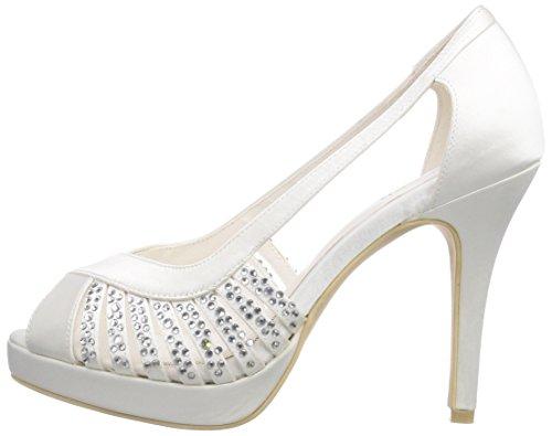 Marfil Elfenbein Sandalias ivory Para De Mujer Vestir 04 Estrella Raso Wedding Menbur 8HBqxqF