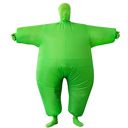 Vantina Adult Inflatable Whole Body Jumpsuit Chub Suit Costume Halloween Full Body Blow Up Suit